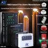 2ゾーンEvacuation Conventional Fire Alarm Control Host