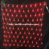 Filets de lumières LED colorées pour des décorations de Noël