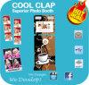Cool Clap promoção publicitária Quiosque Photobooth Portátil