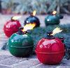 Het kamperen Lampen, de Toortsen van de Citronellaolie, de Lampen van het Terras