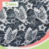 衣服のための美しい灰色カラー蝶パターンオーガンザのレースファブリック