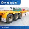 Тип 3 Axles 40FT контейнера трейлер Gooseneck Semi от фабрики Luoxiang