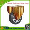 Europäischer Standard-elastische steife Hochleistungsgummifußrolle