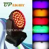 36*18W UV+RGBWA 급상승 6in1 LED 단계 빛 세척