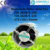 Вентилятор промышленного воздушного охладителя DC AC 150mm осевой (F2E-162B/S-230)