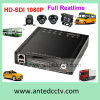 Vehicle CCTV Surveillance를 위한 HD 1080P 4 Channel 3G Car Security Camera Kit