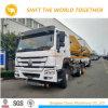 HOWO Rhd 20FTの容器のSidelifterの容器の側面ロードクレーントラック