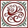Мраморный водоструйная плитка медальона для пола Hall