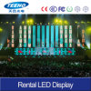 Hohes Refresh Rate P3 Rental LED Display für Stage