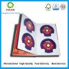 Caja de cartón CD de encargo del almacenaje de la fábrica de China