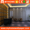 Papel de pared fácil de Wallcovering 3D del panel de pared del PVC de DIY