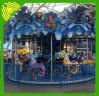 Parque de atracciones favorito de los niños paseos a caballo de carrusel Factory