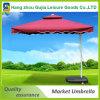 Jardín sombrilla parasol al aire libre con la base
