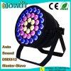 36pcs RGBW 10W 4en1 a la par de LED de luz par puede