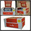 50W / 60W Máquina de grabado láser de precio con la mesa de trabajo motorizado
