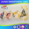 Cinta adhesiva cristalina del embalaje del lacre BOPP del cartón de Hongsu