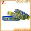 Logotipo personalizado da Pulseira de silicone/Bracelete para promoção dons (YB-SM-05)