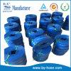 Tuyau plat de configuration flexible bleue dans l'usine de la Chine