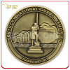 Brass antico Die Cast Zinc Alloy Custom 3D Souvenir Coin