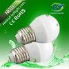 iluminações de 3W 4W 6W G45 com o UL do CE SAA de RoHS