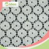 Floral Pattern Suiça Nigéria Nylon e algodão cordão tecido