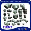 Tubo galvanizzato standard Fitting-2, curvature lunghe della ghisa malleabile di DIN/JIS/GB di spazzata