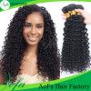 Cabelo humano indiano não processado de Remy do cabelo humano da venda por atacado 100%