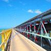 Leistungsstarkes Large Inclination Upward Belt Conveyor System für Material Handling