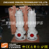 Bomba submergível do cortador da água de esgoto de Yonjou