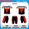 Sublimation su ordinazione Elastic Short Sleeve Cycling Wear per Men