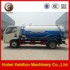 mini 4 tonnes des eaux d'égout 4X2 de camion d'aspiration