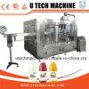 Jugo de automático de llenado de agua zumo/máquina de llenado