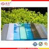 Folha revestida UV da cavidade do policarbonato para o material de construção da telhadura