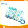 Quanzhouの工場からの着色された使い捨て可能な赤ん坊のおむつ