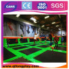Free Design Jumping Indoor Trampoline Park with Sponge Padding