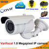 Varifocal IR 1,0 Megapíxeles Cámara de Red IP de Onvif P2p ( 2.8-12mm )