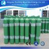 99,999% gás argônio preenchido 50L 200 Bar cilindro de gás