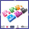 カスタマイズされた熱い販売法の良質安いOEMのロゴの多彩なプラスチックウォーターバッグ