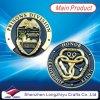 монетка монетки логоса бронзовой монетки 3D стародедовская выгравированная воинская штемпелюя
