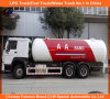 Aa Rano 24, 800 litres de LPG de transports routiers de Bobtail de camion-citerne troque 12mt pour le marché du Nigéria