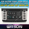 DVD-плеер Witson Car с GPS для Suzuki Swift (W2-D8658X) Touch Screen Steering Wheel Control WiFi 3G RDS