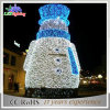 새로운 디자인 LED 크리스마스 선물 눈사람 크리스마스 훈장 빛