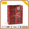 Bolsa de color rojo, bolsa de papel de regalo de Navidad