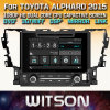 Witson автомобильных мультимедиа Windows DVD плеер для Toyota Alphard 2015