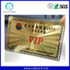 Le métal de carte nommée de carte de VIP a repéré la carte d'identification d'affaires