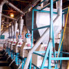 Кукуруза кукурузы пшеницы хлопья зерновой муки фрезерный станок промышленного