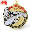 Производитель высшего качества пользовательского боевые искусства спорт медаль