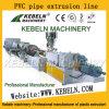 Rohr Plastik-Belüftung-CPVC, das Rohr-Strangpresßling-Zeile Plastikextruder der Maschinen-UPVC bildet