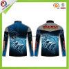 2017 impressions neuves de pêche Jersey de pêche professionnel de sublimation de modèle de longue chemise de chemise