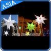 Aufblasbarer LED heller Stern des dekorativen Stadiums-/aufblasbarer Beleuchtung-Stern für Partei